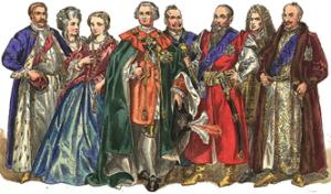 Magnates  de Polonia siglo 18[12]